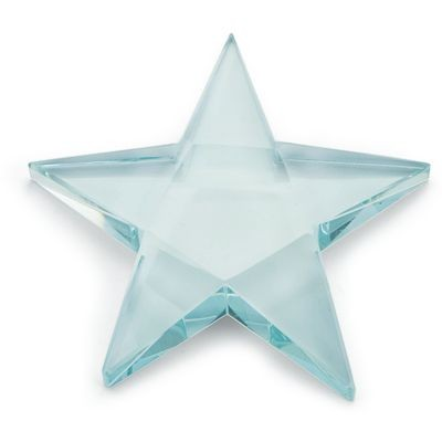 Picture of STAR GREEN GLASS PAPERWEIGHT