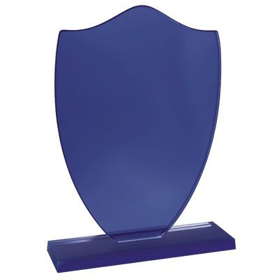 Picture of BLUE GLASS TROPHY AWARD