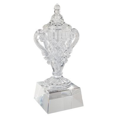 Picture of CRYSTAL TROPHY AWARD with Base