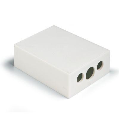 Picture of PENCIL SHARPENER in White Plastic