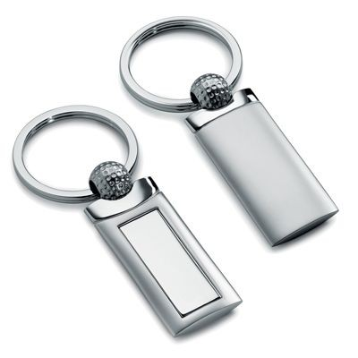 Picture of GOLF METAL KEYRING in Silver