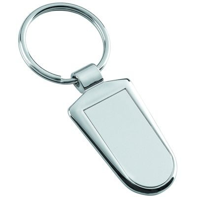 Picture of METAL KEYRING in Shiny & Satin Silver
