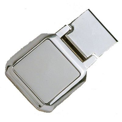Picture of CLIPPER MONEY CLIP in Silver Metal