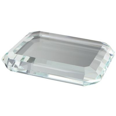 Picture of OCTAGONAL GLASS PAPERWEIGHT