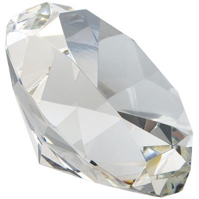 Picture of CRYSTAL GLASS DIAMOND PAPERWEIGHT