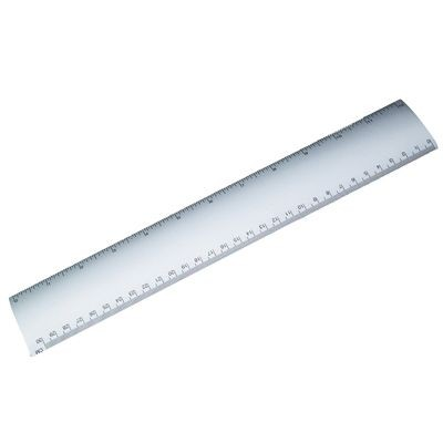 Picture of SILVER METAL RULER