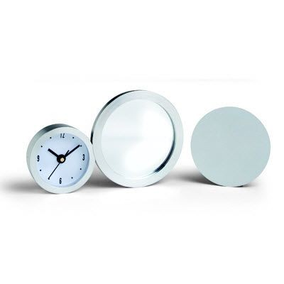 Picture of METAL DESK CLOCK with Mirror