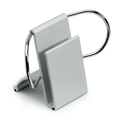 Picture of METAL DESK PAPER AND BUSINESS CARD HOLDER in Silver