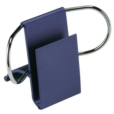 Picture of METAL DESK PAPER AND BUSINESS CARD HOLDER in Blue