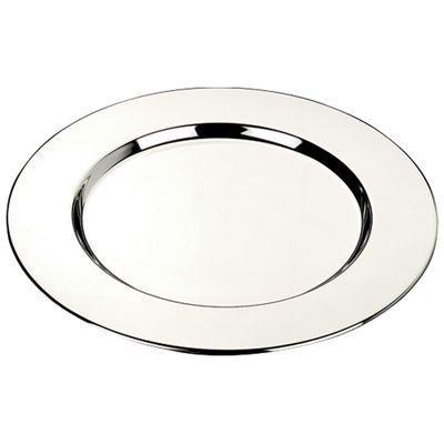 Picture of SMOOTH SILVER CHROME METAL COASTER SET