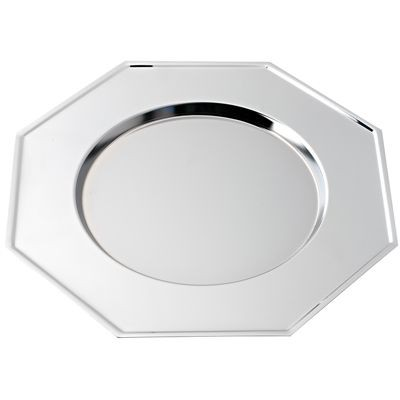 Picture of OCTAGONAL SILVER CHROME METAL MAT