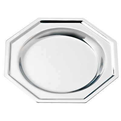 Picture of OCTAGONAL SILVER CHROME METAL COASTER