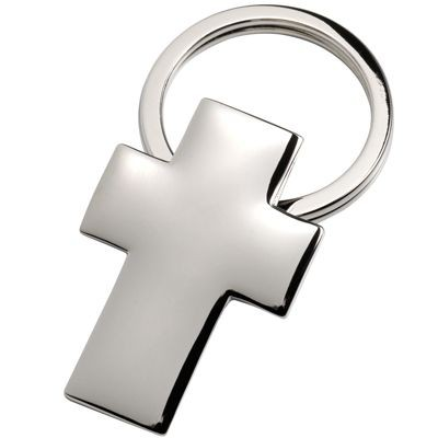 Picture of CROSS SILVER CHROME METAL KEYRING