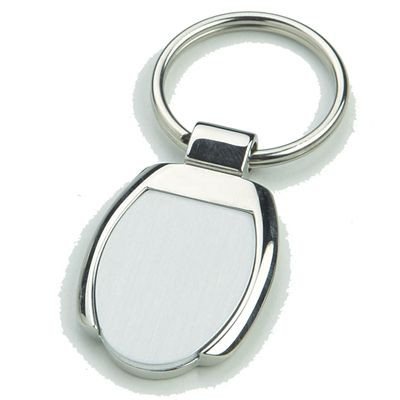 Picture of TOLEDO SILVER CHROME METAL KEYRING