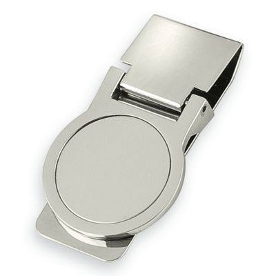 Picture of ROUND METAL MONEY CLIP