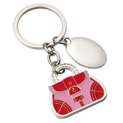 Picture of SMALL BAG METAL KEYRING