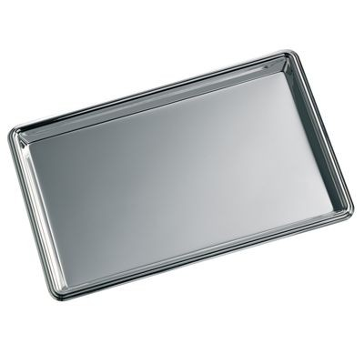 Picture of RECTANGULAR SILVER CHROME METAL TRAY