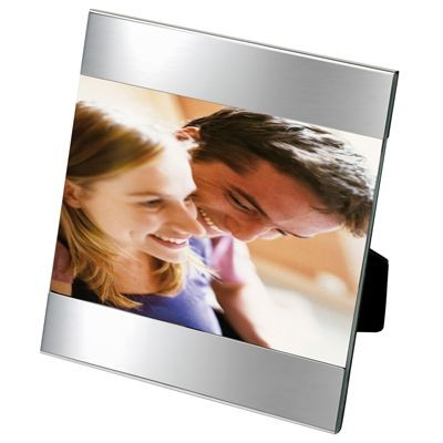 Picture of SHINY SILVER METAL PHOTO FRAME