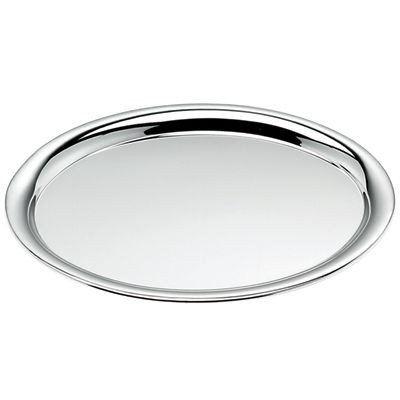 Picture of OVAL TRAY in Shiny Silver