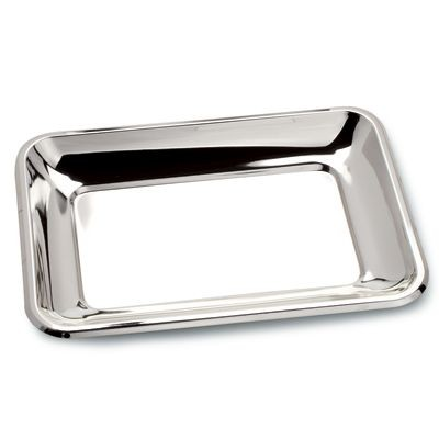 Picture of RECTANGULAR SILVER CHROME PLATED TRAY
