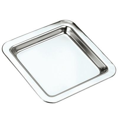 Picture of SQUARE SILVER CHROME PLATED TRAY
