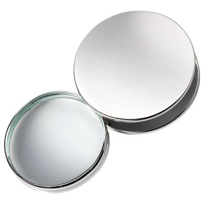 Picture of ROUND MAGNIFIER GLASS in Silver Chrome Metal