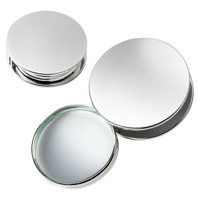 Picture of ROUND MAGNIFIER GLASS in Silver Metal