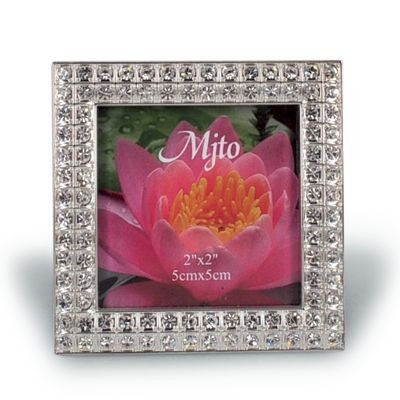 Picture of METAL PHOTO FRAME with Crystals