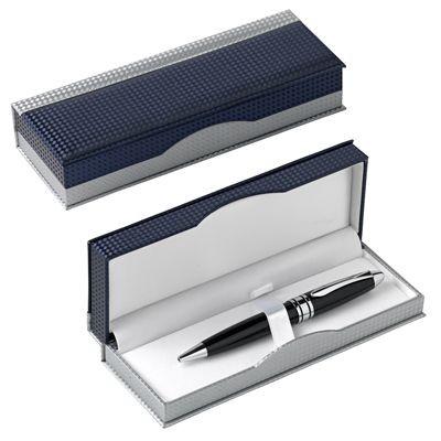 Picture of PEN PRESENTATION BOX in Blue & Silver