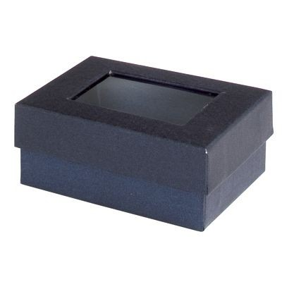 Picture of WINDOW KEYRING PRESENTATION BOX in Blue