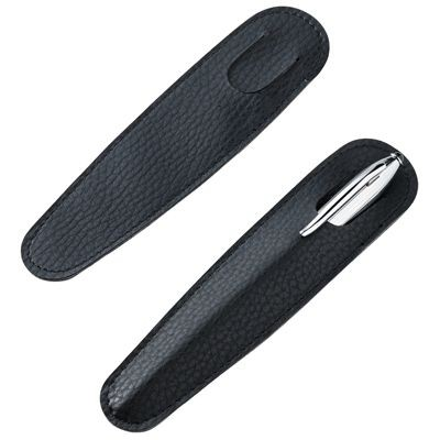 Picture of PEN PRESENTATION SLEEVE in Black Faux Leather