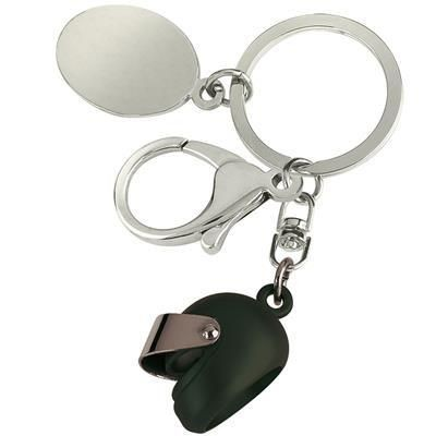 Picture of SMALL MOTOR BICYCLE HELMET KEYRING in Black