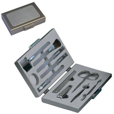 Picture of EXECUTIVE LADIES GROOMING SET in Metal Box