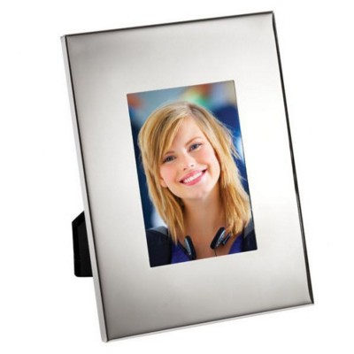 Picture of ALUMINIUM SILVER METAL PHOTO FRAME