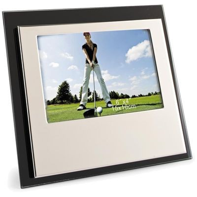 Picture of SILVER PLATED METAL ENGRAVERS PHOTO FRAME