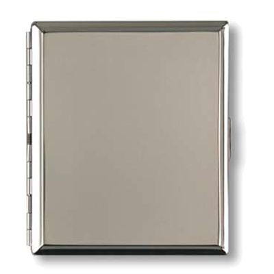 Picture of SILVER CHROME METAL CIGARETTE CASE