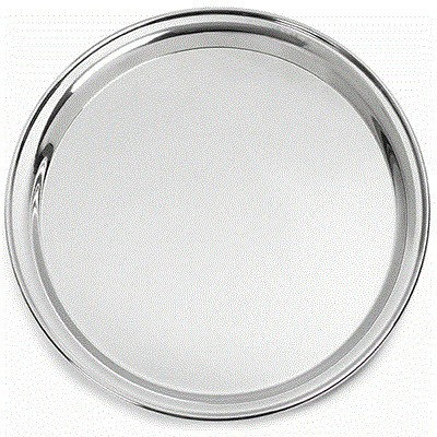 Picture of STAINLESS STEEL METAL WAITERS TRAY 12INCH