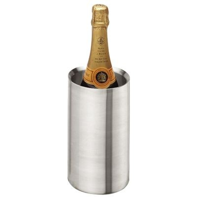 Picture of SILVER STAINLESS STEEL METAL WINE BOTTLE COOLER