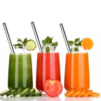 Picture of STRAIGHT REUSABLE STAINLESS STEEL DRINKING STRAW