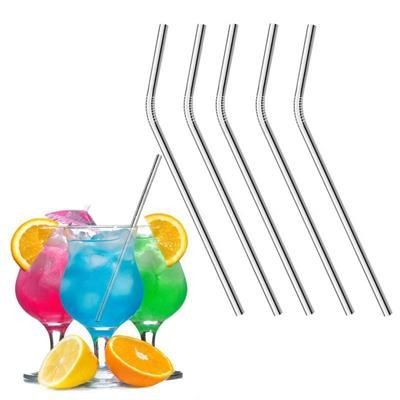 Picture of BENT REUSABLE STAINLESS STEEL DRINKING STRAW