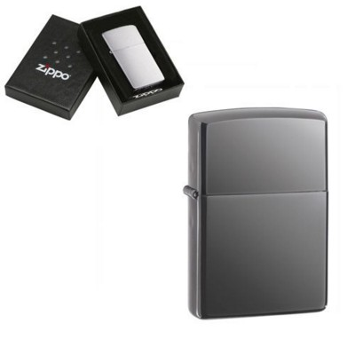 Picture of GENUINE ZIPPO LIGHTER in Black Ice Finish