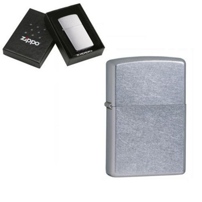 Picture of GENUINE ZIPPO LIGHTER in Street Silver Chrome
