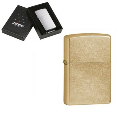Picture of GENUINE ZIPPO LIGHTER in Gold Dust