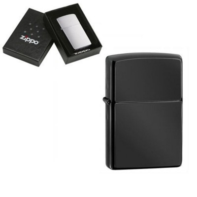 Picture of GENUINE ZIPPO LIGHTER in Ebony Finish
