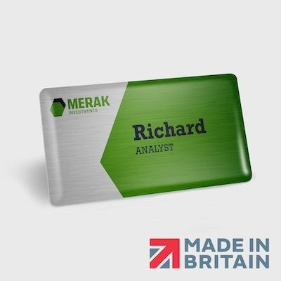 Picture of NAME BADGE 1MM METAL DOMED