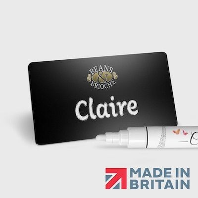 Picture of MAGNETIC BLACKBOARD NAME BADGE