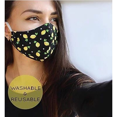 Picture of PROMOTIONAL REUSABLE FABRIC FACE MASK with Filter