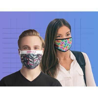 Picture of PROMOTIONAL REUSABLE COTTON FACE MASK