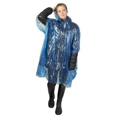 Picture of DISPOSABLE EMERGENCY RAIN PONCHO