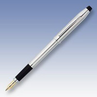 Picture of CROSS CENTURY II FOUNTAIN PEN in Lustrous Silver Chrome